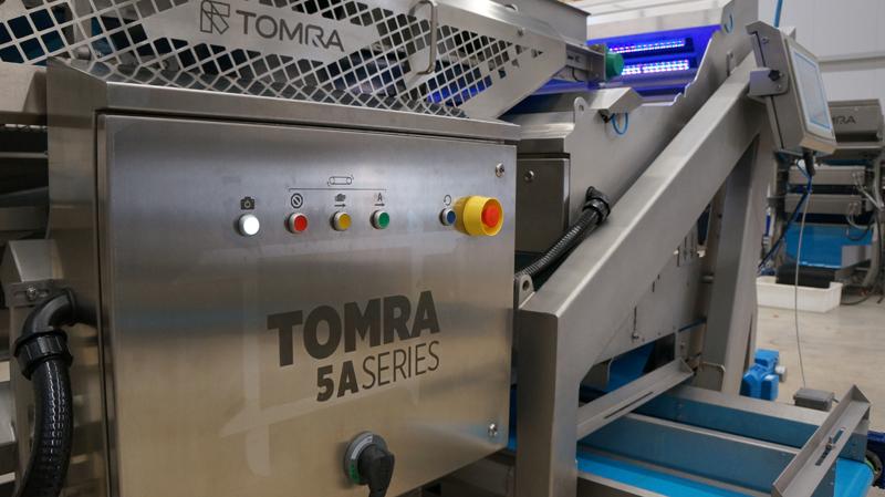 Tomra 5a Ayıklama Makinesi, Patates İşleme Verimliliğini Artırıyor
